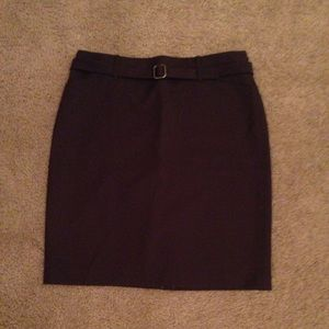 NWOT Ann Taylor loft pencil skirt with belt
